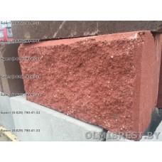 Красные блоки демлер в Бресте размер 8,5х20х40
