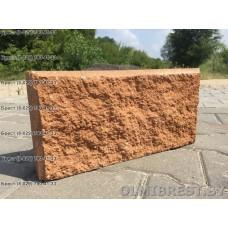 Персиковые блоки демлер в Бресте размер 8,5х20х40