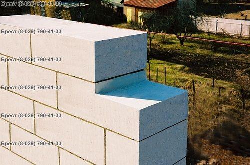 Газосиликатные блоки для стен в Бресте