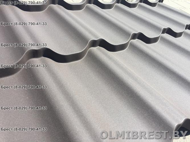 Фото металлочерепицы Ruukki Finera RR32 PEMA коричневая