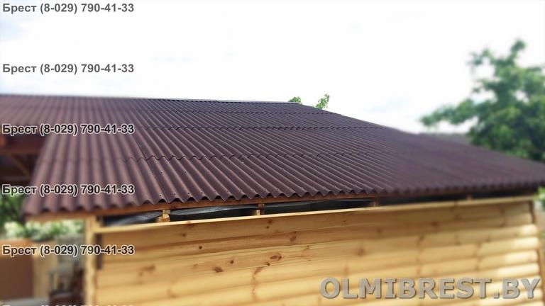 Фото дома с крышей Ондулин в Бресте