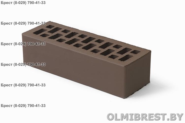 Кирпич Braer коричневый 0,7 NF гладкий