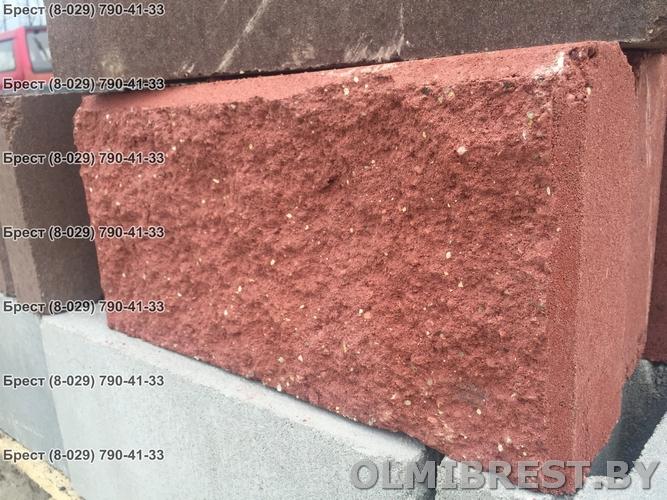 Блок демлер 8,5 декоративный красный