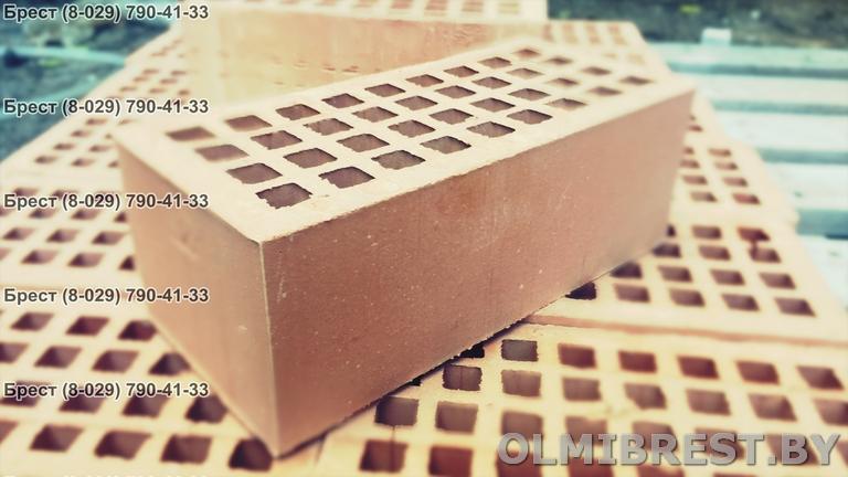 Фото кирпича керамического пустотелого в Бресте