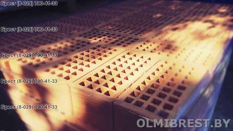 Керамический перегородочный кирпич в Бресте фото