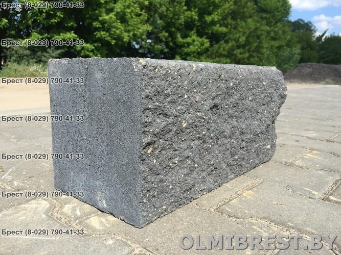 Блок демлер фото чёрный 20х20х40 декоративный общий вид