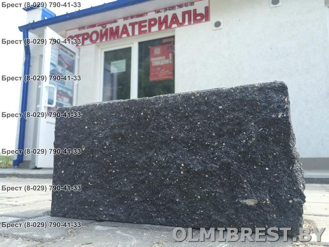 Блок демлер фото чёрный 20х20х40 декоративный и офис ЧТУП