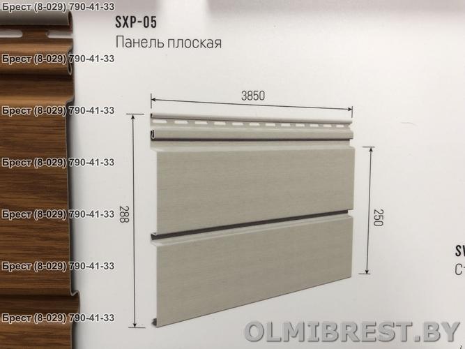 Размеры сайдинга VOX SXP-05