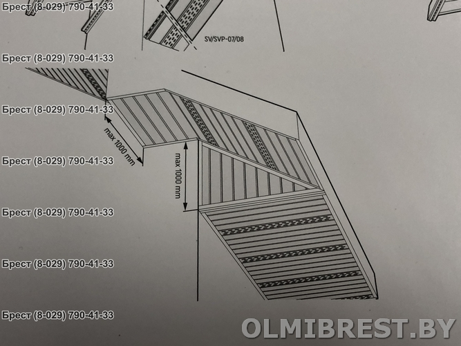 Монтаж подшивы крыши