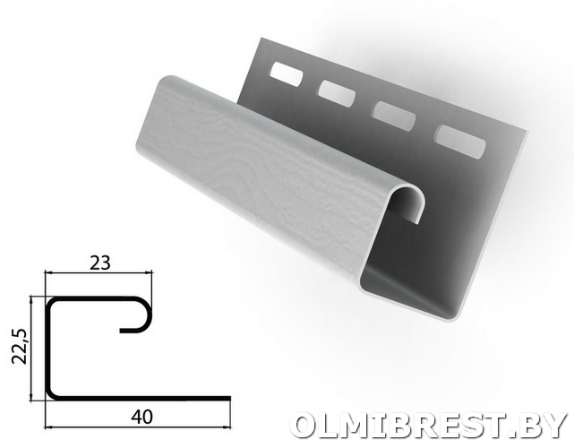 Размеры профиля J-trim Grand Line