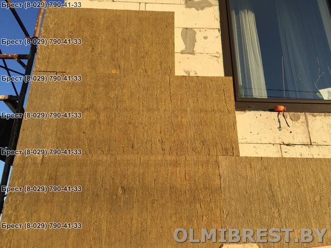 Фото минваты для фасада в Бресте